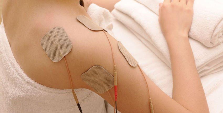electric stimulation for shoulder pain